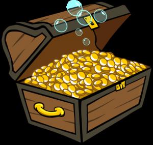 treasure chest 300x285 - Free Casino Bonus